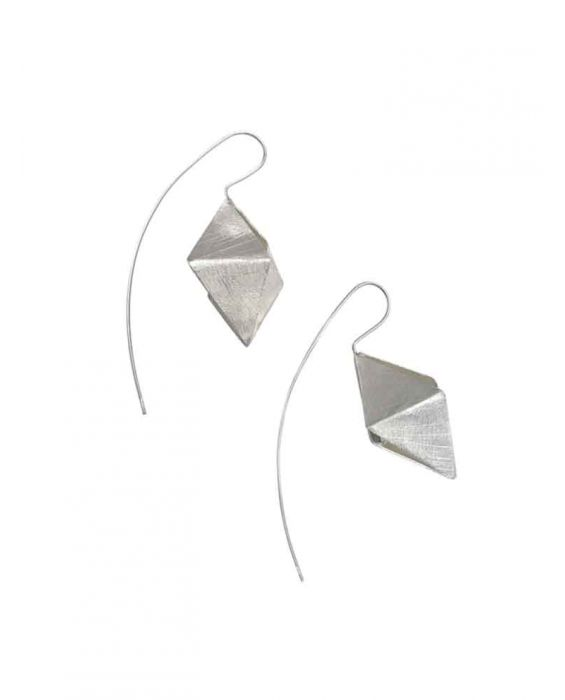 The Craftshop 'Cone' Sterling Silver Earrings - Silver