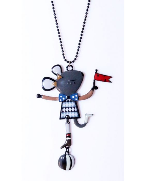 ARTICLES DE PARIS 'MOUSE' NECKLACE