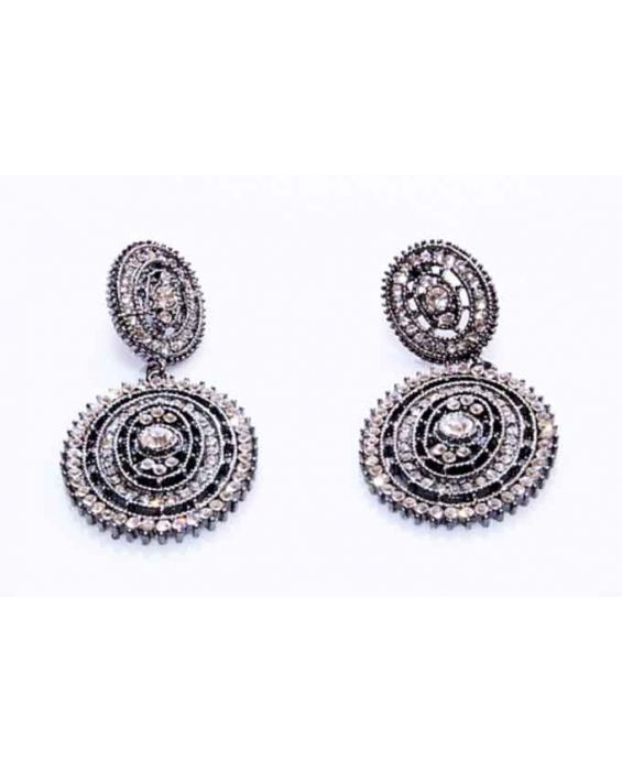 ARTICLES DE PARIS 'OVAL' EARRINGS