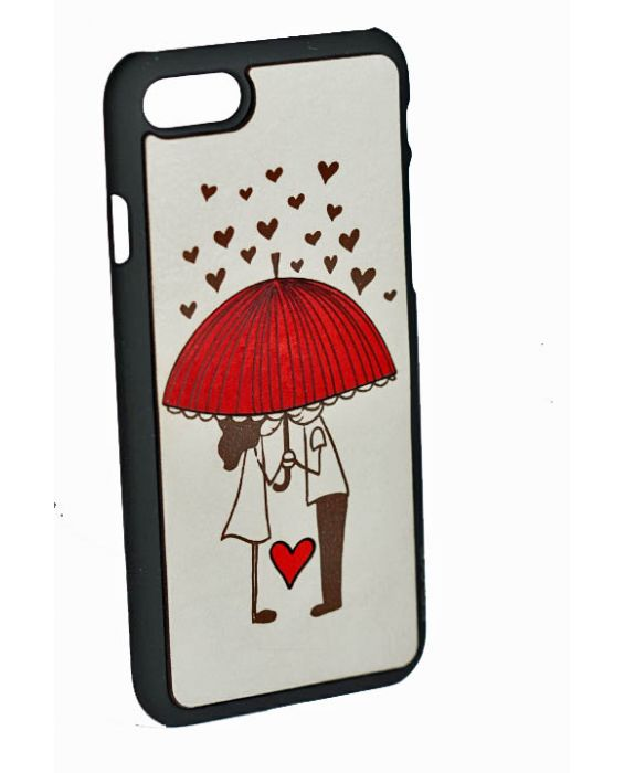 Eevye 'Umbrella' Leather Phone Case