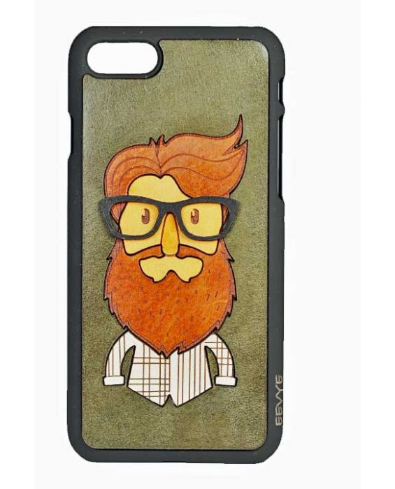 Eevye 'Jack' Leather Phone Case - Dark Green