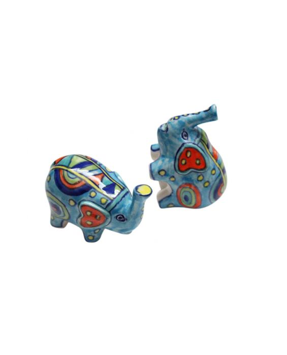 Gall and Zick 'Elephant' Ceramic Salt and Pepper Shakers