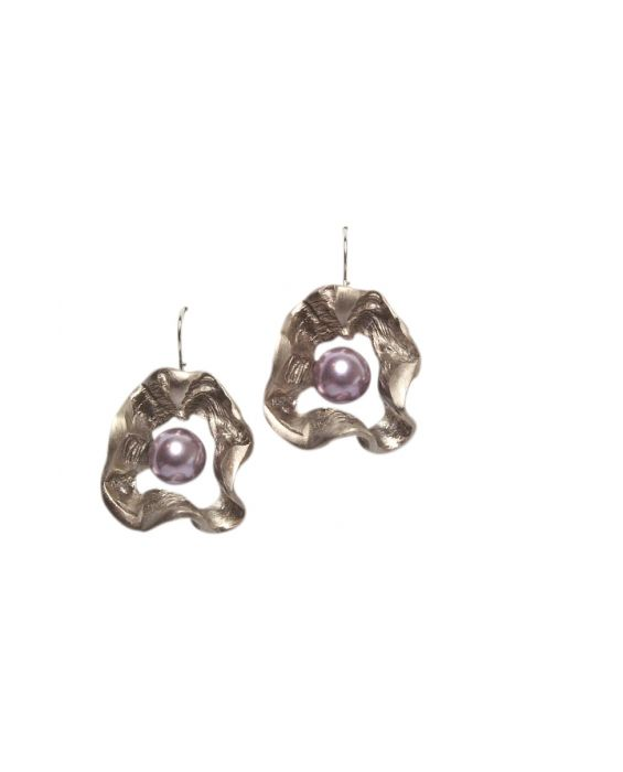 STUDIO-GI 'PETAL' EARRINGS - LILAC