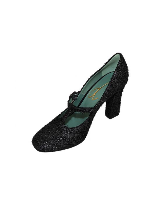 Paola D'Arcano 'Sixty' Mary Jane Pump - Black