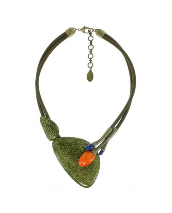 NATURE BIJOUX 'MOSS' NECKLACE