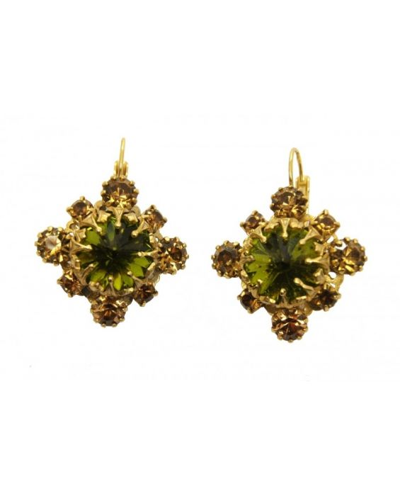 MONNA LUNA FLORAL EARRINGS