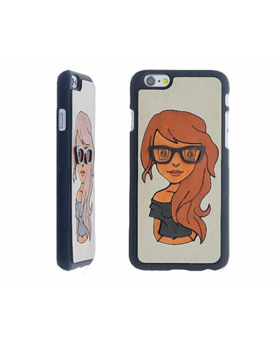 Eevye 'Jill' Leather Phone Case - Grey