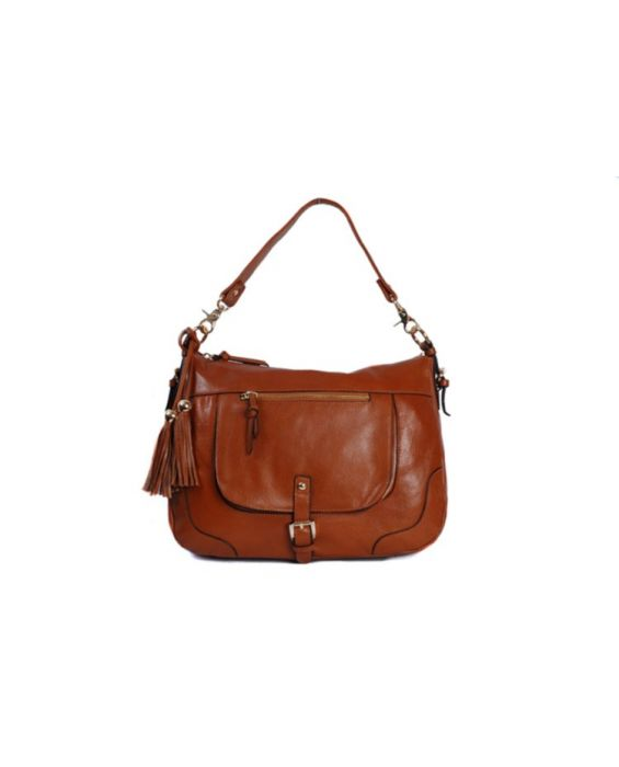 SMITH & CANOVA LEATHER SHOULDER BAG