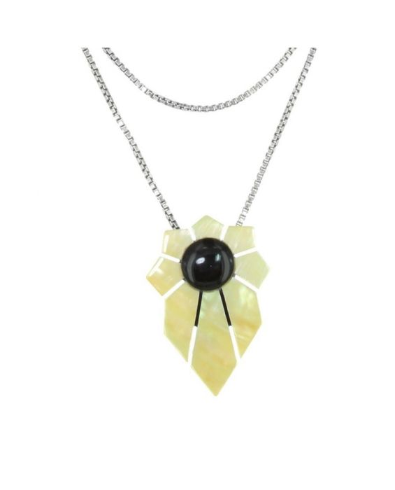 NATURE BIJOUX 'SOLAR' NECKLACE1